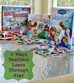 4 Ways Toddlers Learn Through Play