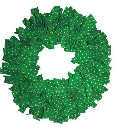 Christmas Confetti Wreath  Uses Recycled Items: No        View Full Details