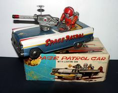 Nomura Space Patrol. Battery op Toy from 50s/ebay