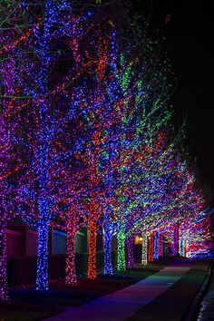 Yukon Ok Christmas Lights.Oklahoma In Christmas Lights In Yukon Ok Oklahoma