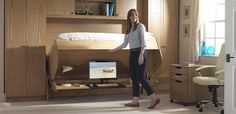 2. The StudyBed - From a desk to a bed in just 3 seconds