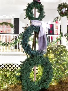 Unlit Structures - 8 Outdoor Holiday Lighting Ideas That Dazzle on HGTV