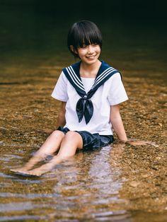 Preteen Girls Fashion, Girl Fashion, Asian Model Girl, Anime School Girl, Girl In Water, Japanese School, Kids Swimwear, Girl Body, Beautiful Asian Girls