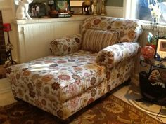 Overstuffed Chaise/Chair, Beautiful!
