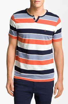 Volcom 'Lingo' Stripe Henley T-Shirt | Nordstrom