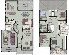 The Arizona 374 features four spacious bedrooms, 2.5 bathrooms and an open-plan kitchen, living and dining space.