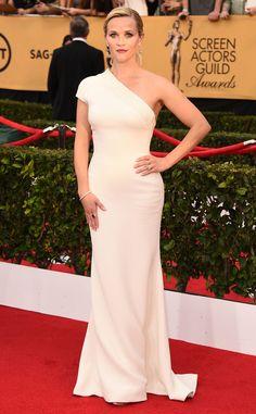 Reese Witherspoon wearing Giorgio Armani! #SAGAwards
