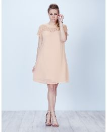Lace A Line Swing Dress perfect for prom,weddings, at simplybe.com