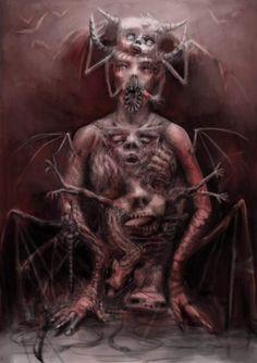 Horror Art Hp Lovecraft, Hr Giger Art, Art Optical, Optical Illusions, Arte Horror, Horror Art, Dreams And Nightmares, Horror Show, Dark Ages