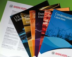 ducati energia presentation folders