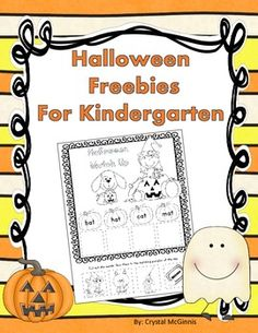 This little pack contains Halloween themed Math and Literacy activities for Kindergarten. Enjoy!