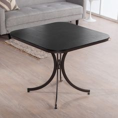 Meco Innobella Destiny 36 In. Square Wood Folding Table