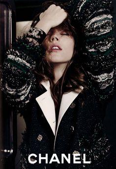 Chanel Ad Campaign - Freja #chanel #fashion #editorial