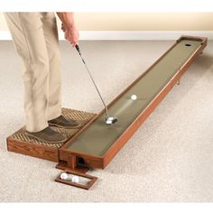 A Special Diy For Cale Or Dad The Handcrafted Adjule Putting Green