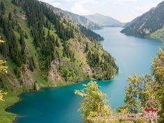 Lake Sary-Chelek, Kirgisien