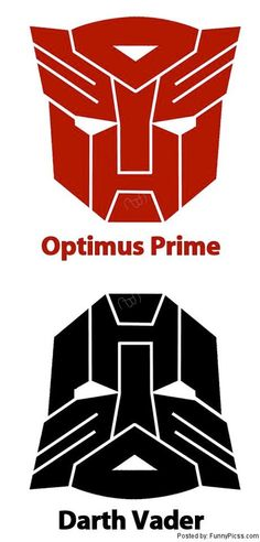 DARTH VADER IS OPTIMUS PRIME'S ALTER EGO