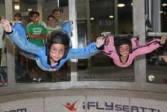 indoor skydiving - my dad says he's gonna take my brother and i to vegas and do that.