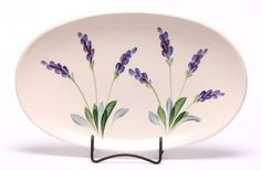 """Emerson Creek Pottery Here is a large ceramic serving tray, measuring 12"""" x 7"""" it makes a fine compliment to any fine dinnerware set from Emerson Creek. Hand-crafted in Virginia, all Emerson Creek Pot"""