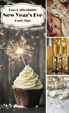 Easy and Affordable New Year's Eve Party Tips - here are ideas that will help you save money but still host an incredibly fun party to ring in the new year! #blessedbeyondcrazy #newyear #party #spon