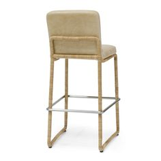 """Palacek Stillwater 24"""" Counter Barstool in Leather"""