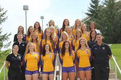 2013 UNI volleyball team