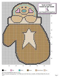 """~""""Mitten Gingerbread Man""""~ Pg 2/2"""