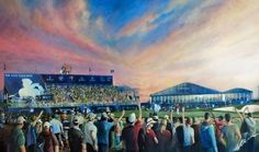 Golfing Greats are painted by the celebrated Sporting Artist, Mark Robinson. Original Oils, Acrylics and Watercolors are available, as affordable prints from the paintings as well as originals from the collection. Robinson Golf Art was set up to promote M Golf Art, Art News, European Tour, Exhibitions, New Art, Originals, Dubai, Golf Courses, Original Paintings