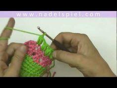 Häkeln Lernen Wendeluftmaschen Steigeluftmaschen Hobby Pinterest