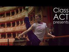▶ Svetlana Zakharova - Stretching & Warm-up in Italy - YouTube