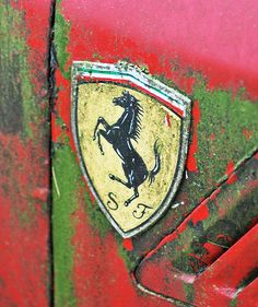 Ferrari rust. Even the best are put out to pasture