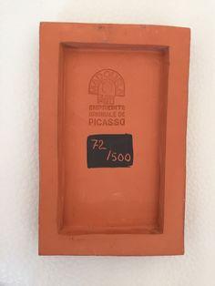 PABLO PICASSO Authentic Madoura Ceramic Woman and Toreador tile plaque Ramié 541   eBay
