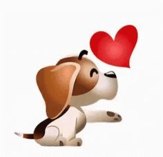 The perfect Kiss Puppy Love Animated GIF for your conversation. Discover and Share the best GIFs on Tenor. Good Morning Kiss Gif, Kiss Animated Gif, Kiss Gifs, Love Heart Gif, Puppies Gif, Emoji Love, Love Stickers, Cute Love, Smiley