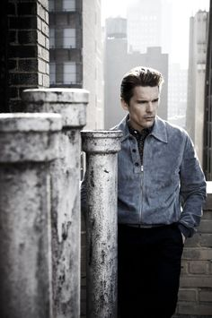 Ethan Hawke by Kurt Iswarienko Ethan Hawke, The Chosen One, Great Expectations, Still Photography, Elements Of Style, Best Actor, American Actors, Image, Portraits