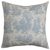 Found it at Wayfair - Lalibela Cotton Pillow; blue and/or baby blue