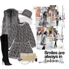 """""""Trip with friends to the cinema and for coffee :)"""" by nikol128 on Polyvore"""