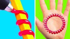 Easy Crafts For Everyone - Easy Crafts For Everyone 5 Minute Crafts Videos, 5 Min Crafts, Diy Crafts Hacks, Easy Diy Crafts, Diy Arts And Crafts, Craft Videos, Glue Gun Projects, Glue Gun Crafts, Diys With Hot Glue