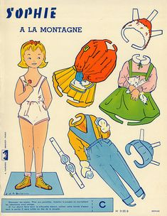 wonderful french paperdolls
