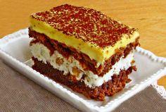 Prăjitura care cucerește orice gurmand: Prăjitura franțuzească Romanian Desserts, Romanian Food, Something Sweet, Cheesecakes, Caramel, Sweet Treats, Food And Drink, Cooking Recipes, Yummy Food