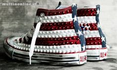 Converse studded Americana sneakers