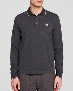 Moncler Maglia Long Sleeve Polo - Regular Fit