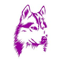 Husky Dog Cuttable Design Cut File. Vector, Clipart, Digital Scrapbooking Download, Available in JPEG, PDF, EPS, DXF and SVG. Works with Cricut, Design Space, Sure Cuts A Lot, Make the Cut!, Inkscape, CorelDraw, Adobe Illustrator, Silhouette Cameo, Brother ScanNCut and other compatible software.