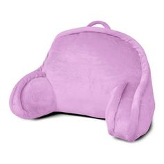 New Backrest Pillow, Micro Plush Bedrest Reading Pillow with Arms ...