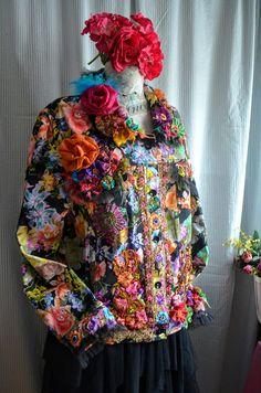 Art to wear Bohemian reworked romantic by IrinaBohemianDance