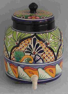 Talavera Portagarrafon - Mexican Connexion for Talavera Pottery [ MexicanConnexionforTile.com ] #shop #Talavera #Mexican