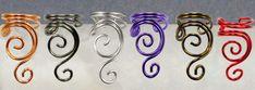 Swirly Ear Cuffs - Colors by sylva on deviantART
