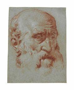Giambattista Tiepolo, 'Head of Giulio Contarini, in three-quarter profile, after Alessandro Vittoria,' , Christie's Old Masters