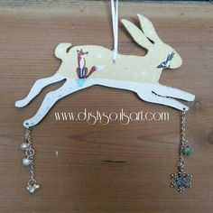 Check out this item in my Etsy shop https://www.etsy.com/uk/listing/475296774/hare-ornament-handpainted-christmas-hare
