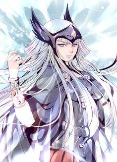Polaris Hilda, Odin's Cleric. Saint Seiya Asgard Saga