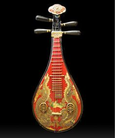 Tu Pi Ba Chinese Musical Instrument