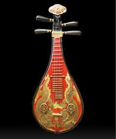 Tu Pi Ba Chinese Musical Instrument
